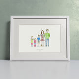 Our Family Portrait - Personalised