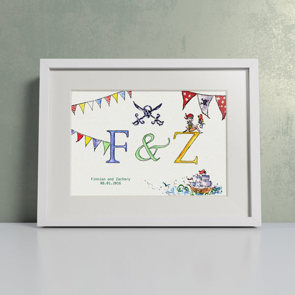 Pirates - Personalised Print