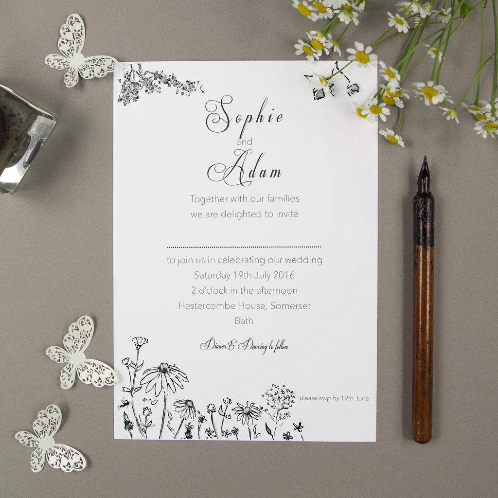 Woodland Wedding - Personalised Wedding Stationery