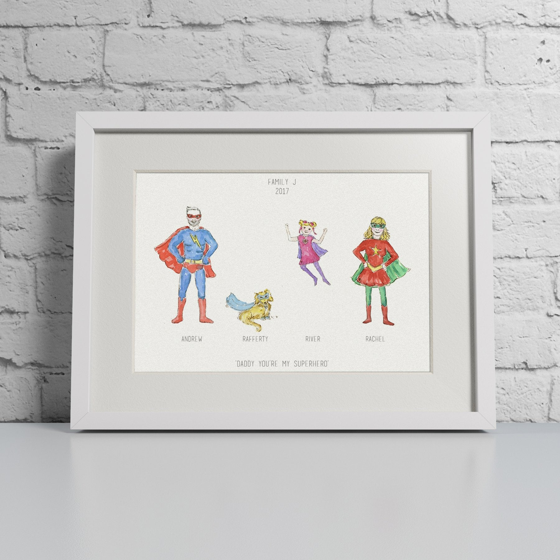 Super You Family Print