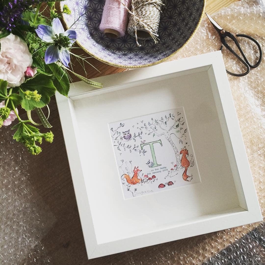 Personalised Initial Prints