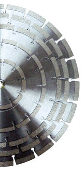 Laser Welded Diamond Blade - Segmented