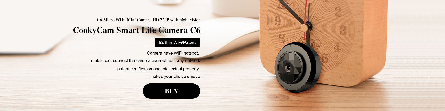 CAMSOY Official Website The World's Most Popular Mini Security Camera