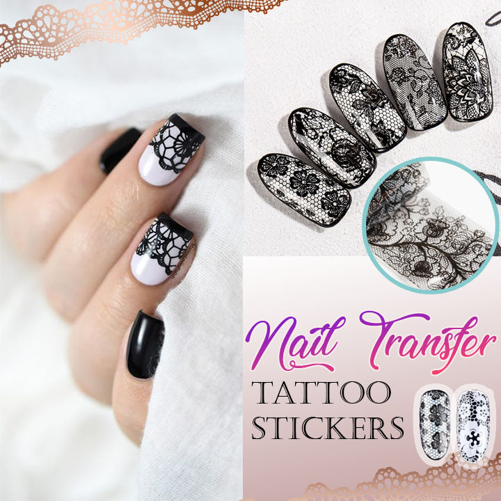 Nail Transfer Tattoo Stickers