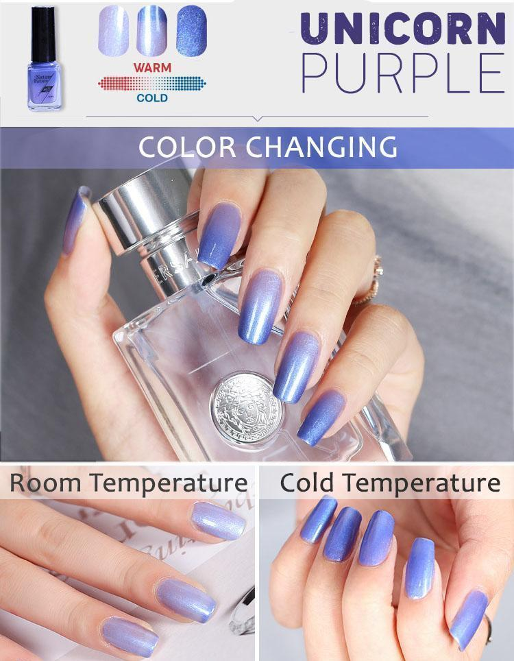 2-tone Thermochromic Nail Polish