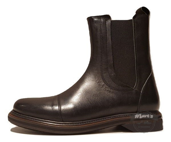 Zwarte Chelsea boot - Shabbies - SHS0722