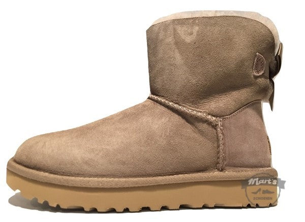 Licht Beige Boot - UGG - Mini Bailey Bow