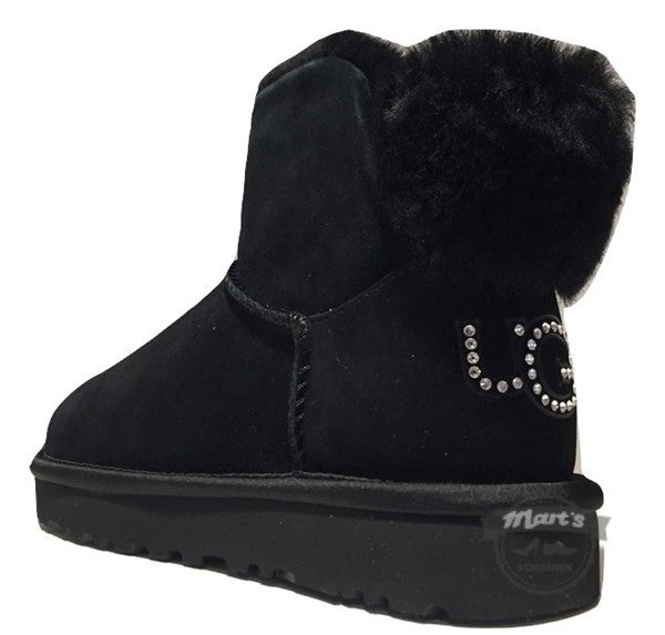 Zwarte Boot - UGG - Classic Mini Bling