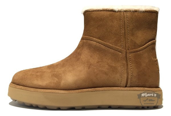 Cognac Boot - UGG - Classic Mini BLVD