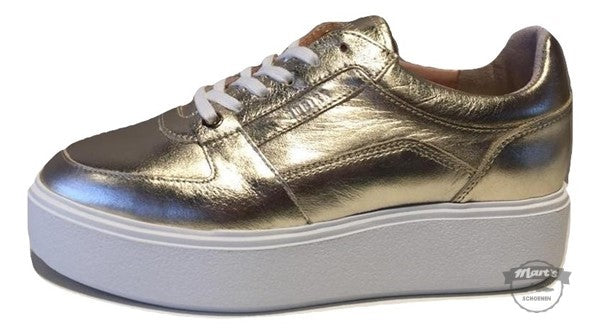 Goud Metallic Sneaker - Nubikk- Elise Bloom 21046000