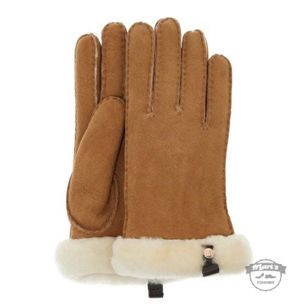 Cognac Handschoen - UGG - Shorty Glove