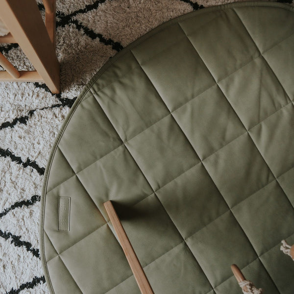 SAGE- Quilted Play Mat