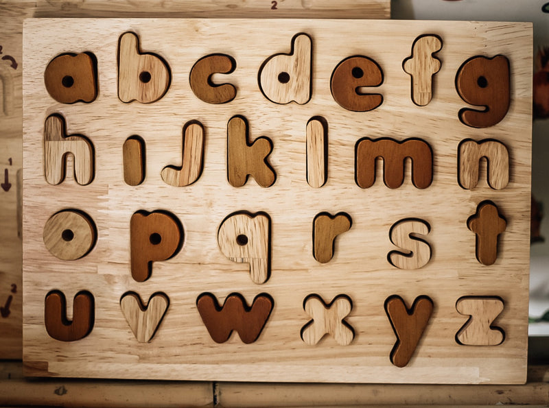 Natural Lower Case Puzzle