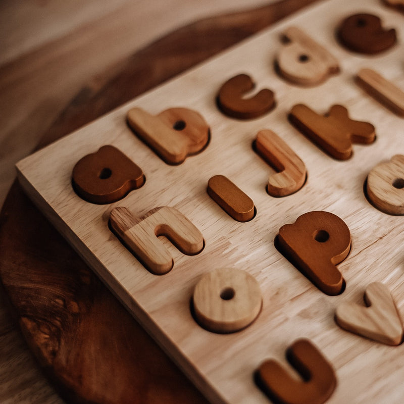 NEW Natural Lower Case Puzzle