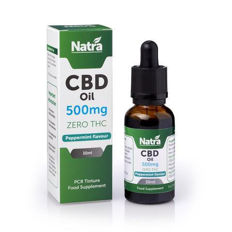 Natra Tincture oil 500MG - Peppermint