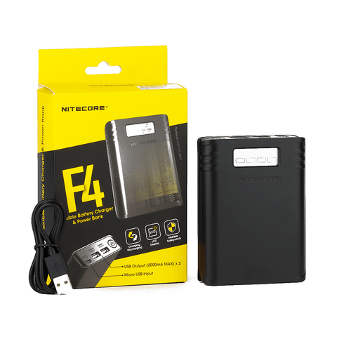 Nitecore F4 Charger & PowerBank