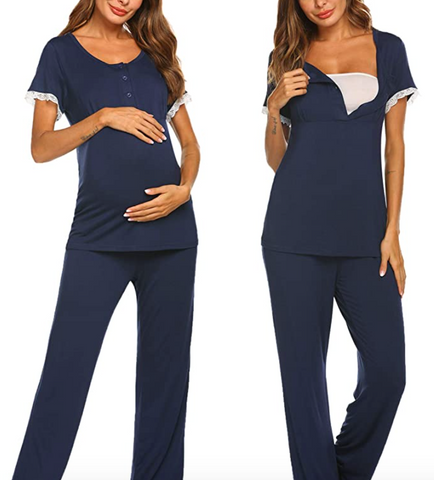 Maternity and Nursing Sleepwear