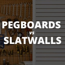 Choosing the Right Garage Wall Panels: Slatwalls vs. Pegboards