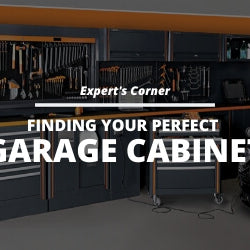 Finding Your Perfect Garage Cabinet Blog Post Thumbnail