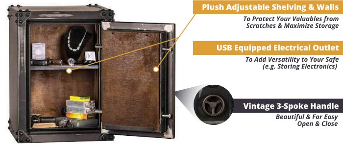 Rhino Safes CIWD3022X Overview of Storage Features