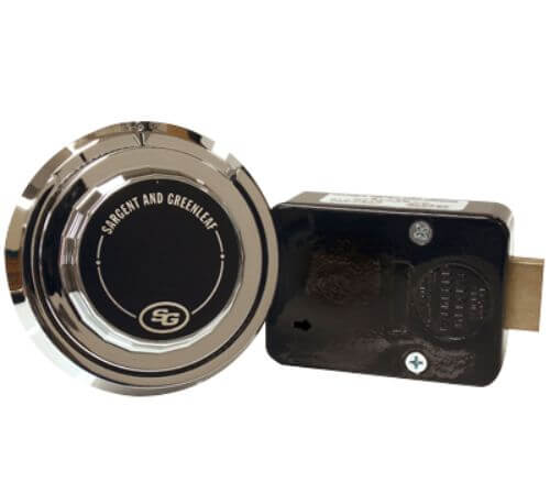 S&G Spyproof Dial Lock