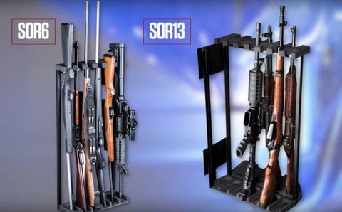 rhino safes swing out gun rack