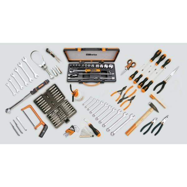 Beta Tools 5940SBK Assortment of 125 Tools for Motorcycle Repairs