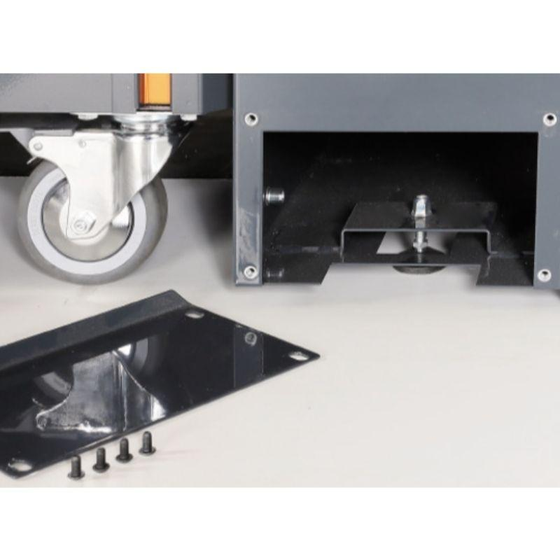 Beta Tools C55 Comprehensive Workshop Equipment Combination View of the Installation of Cabinets