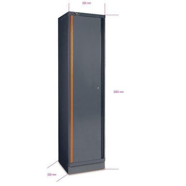 Beta Tools C55A1 Sheet Metal Tool Cabinet With One Cabinets Doors