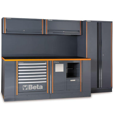Beta Tools C55AB Workshop Equipment Combination Comprehensive Full View