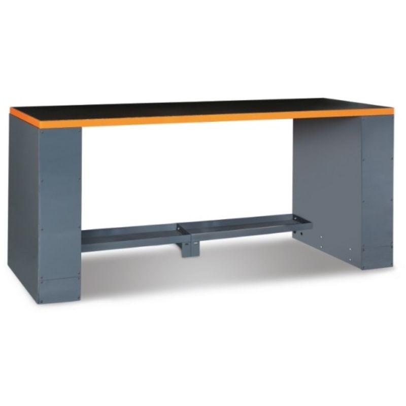 Beta Tools C55B Workbench 2 Meter Table in Orange Front View