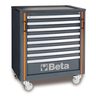 Beta Tools C55C8 Mobile Roller Cab with 8 Drawers View from the Front