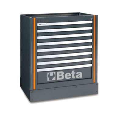 Beta Tools C55M8 Fixed Module With 8 Drawers From the Front