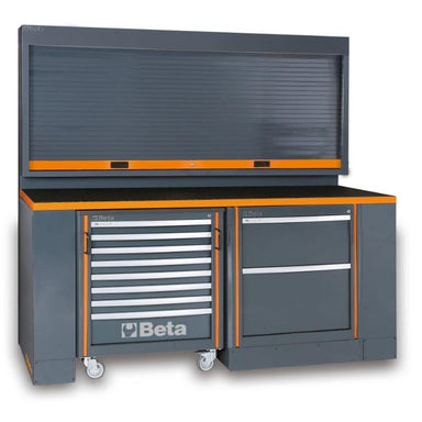 Beta Tools C55PB/3 Workshop Equipment Combination Full Comprehensive View of Combination
