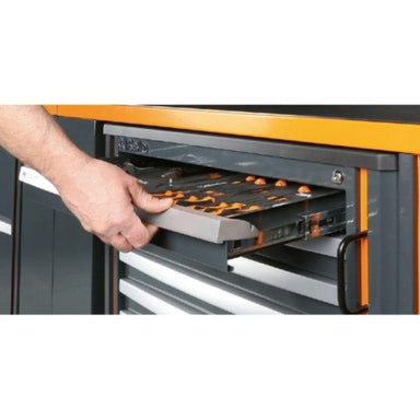 Beta Tools C55PB/3 Workshop Equipment Combination View of One of the Cabinet Drawers