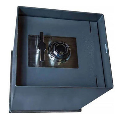 Hollon B-2500 Floor Safe Viewed with Door Closed From the Top