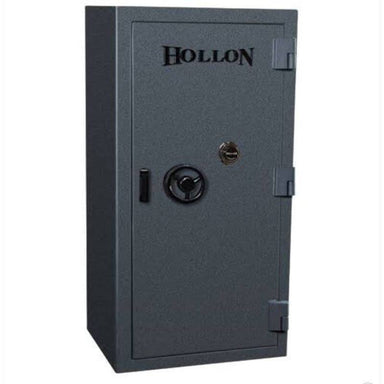 Hollon EMP-5530 EMP TL-15 Tactical Gun Safe in Stealth Charcoal With Doors Closed, Front View