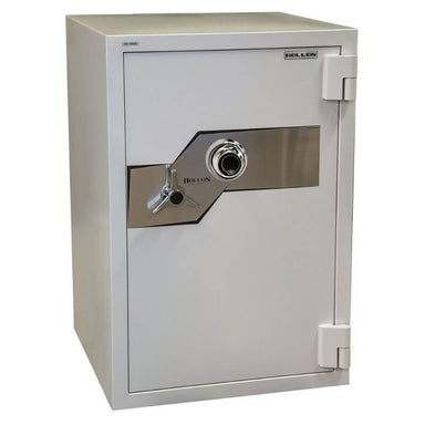 Hollon FB-1054C Fire & Burglary Safe with Dial Locks, Door Closed and Viewed From the Front