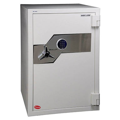 Hollon FB-1054E Fire & Burglary Safe with Electronic Locks, Door Closed and Viewed From the Front