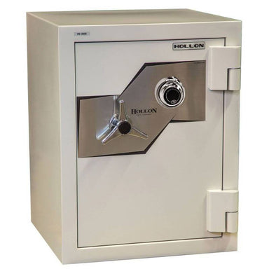 Hollon FB-685C Fire & Burglary Safe with Dial Locks, Door Closed and Viewed From the Front