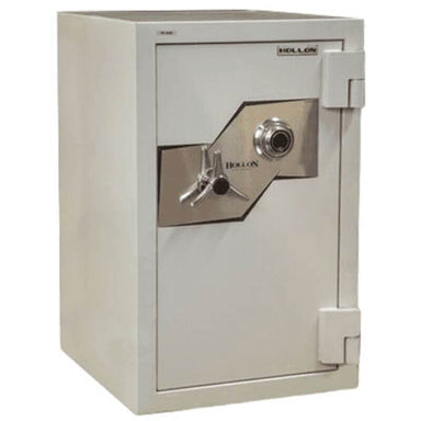 Hollon FB-845C Fire & Burglary Safe with Dial Locks, Door Closed and Viewed From the Front