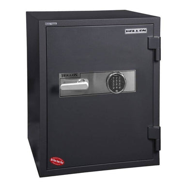 Hollon HDS-750E Data Safe with Electronic Locks. Door Closed and Viewed From the Front