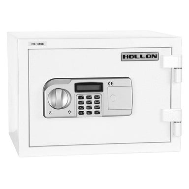 Hollon HS-310E Home Safe with Electronic Locks and Door Closed. Viewed from the Front Left