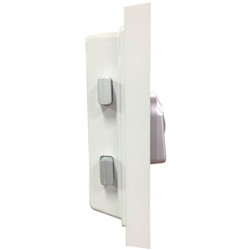 Hollon HS-360E Home Safe Side View of Door Thickness and Locks