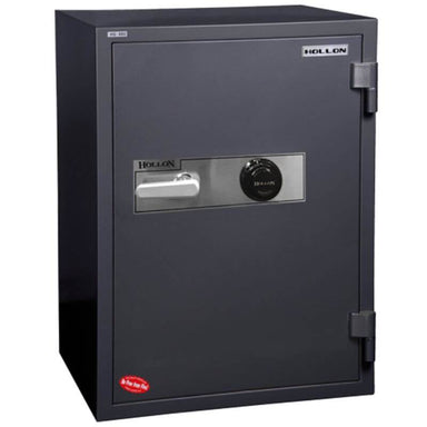 Hollon HS-880C Office Safe with Electronic Locks and Doors Closed. Viewed from the Front