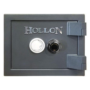 Hollon MJ-1014C TL-30 Rated Safe with Dial Lock, Door Closed and Viewed Directly from the Front