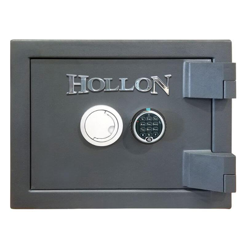 Hollon MJ-1014E TL-30 Rated Safe with Electronic Lock, Door Closed and Viewed Directly from the Front