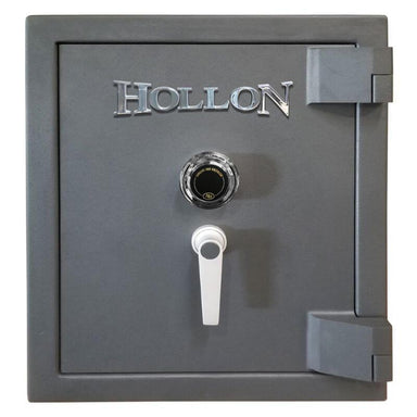 Hollon MJ-1814C TL-30 Rated Safe with Dial Lock, Door Closed and Viewed Directly from the Front
