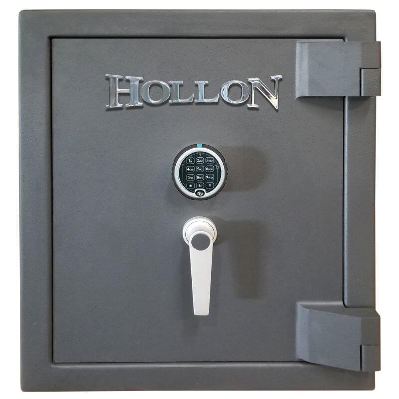 Hollon MJ-1814C TL-30 Rated Safe with Electronic Lock, Door Closed and Viewed Directly from the Front