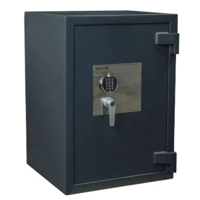Hollon PM-2819C TL-15 Rated Safe with Electronic Lock, Door Closed and Viewed Directly from the Front